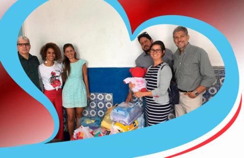 AGGEB apoia ONG que cuida de crianças com microcefalia e malformações neurológicas