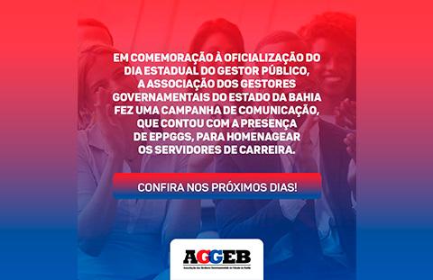 Comemoração da oficialização do dia estadual do Gestor Público