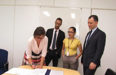 Página do Tribunal de Justiça destaca acordo firmado com a Aggeb