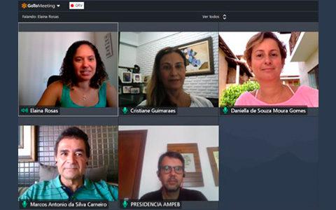 CEO faz reunião virtual sobre o enfrentamento à COVID-19
