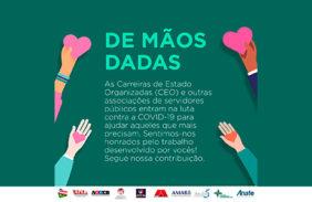 CEO inicia doações a instituições sociais