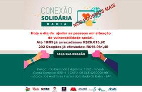 Conexão Solidária atinge nova marca importante em doações