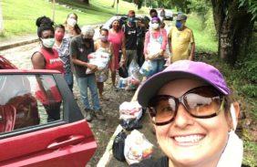 Conexão Solidária entrega doações a comunidades carentes